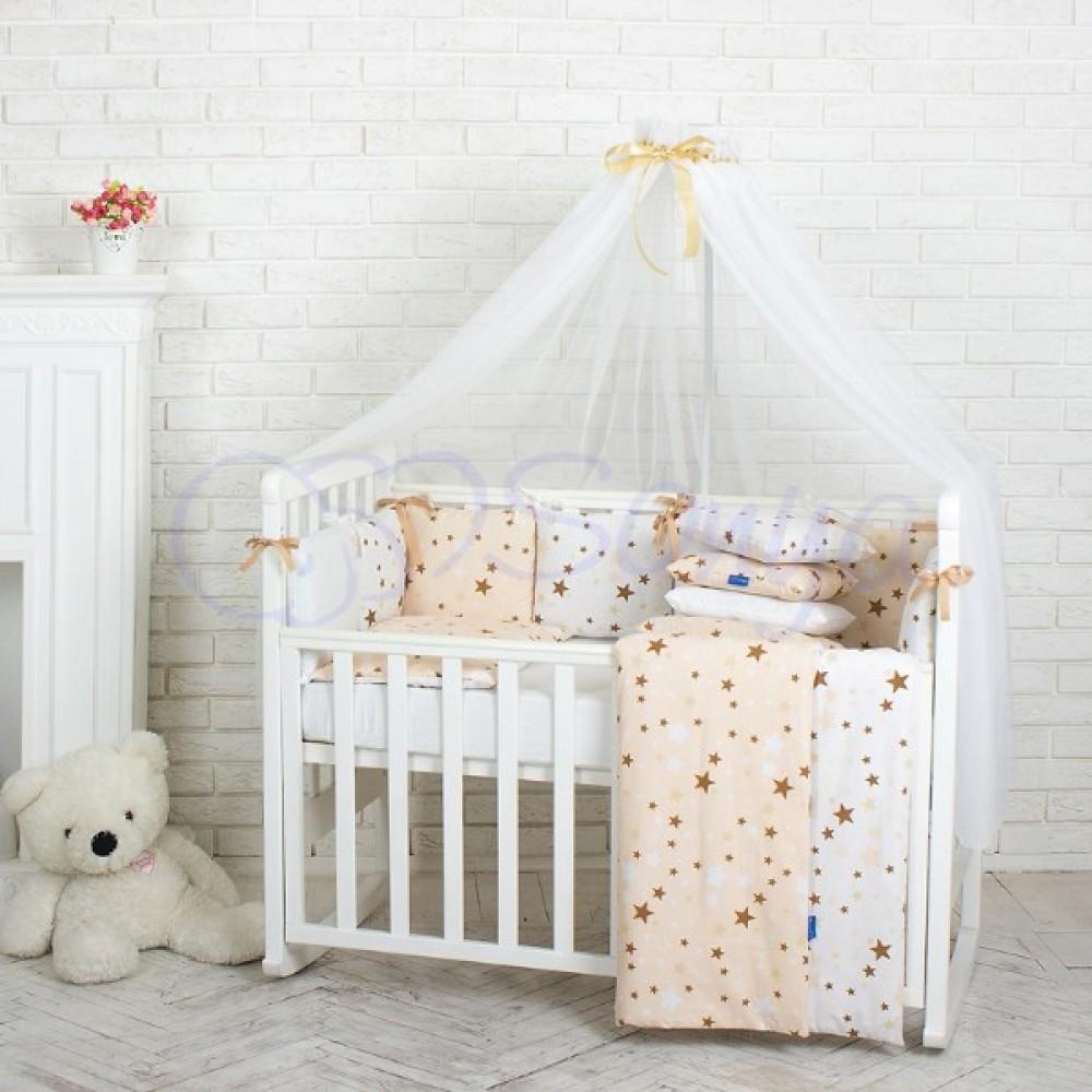Дитяча постільна білизна Маленька Соня Baby Design Stars ... a533b7e79206a