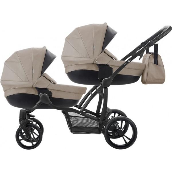 Дитяча універсальна коляска для двійнят BEBETTO 42 (Premium), Польща