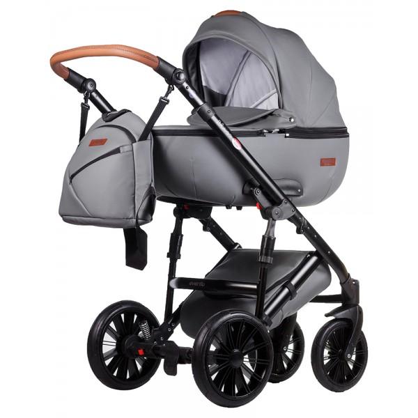Дитяча коляска (2 в 1) Everflo Bliss (Польща), 100% еко-шкіра