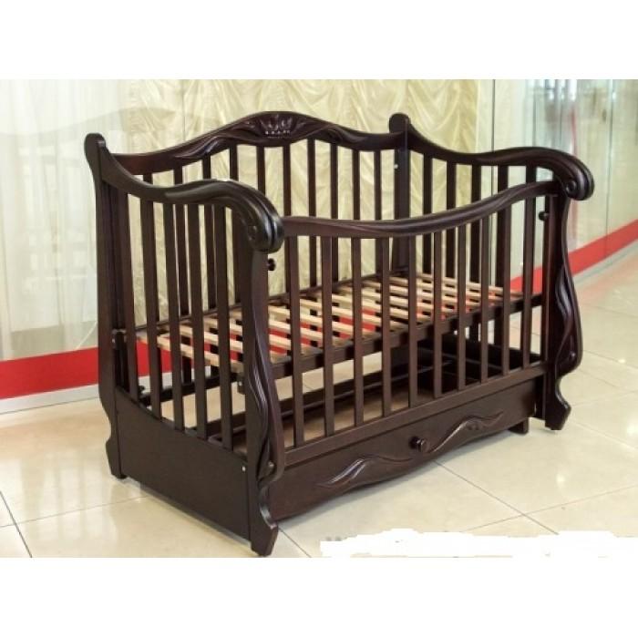 Дитяче ліжко-диван КОРОНА (крита шухляда)