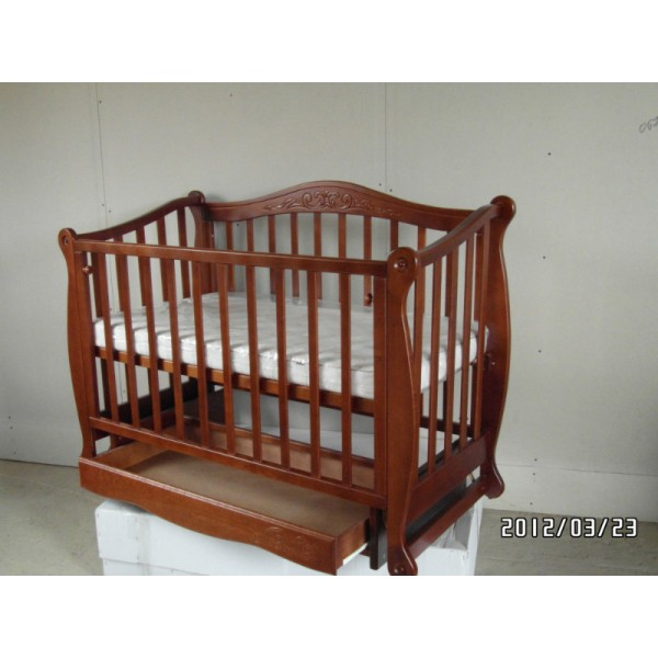 Дитяче ліжечко-диван ЛЯЛЯ (крита шухляда)