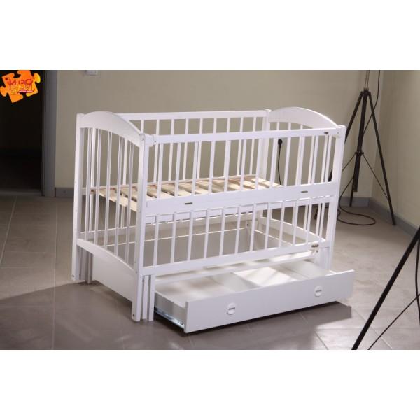 """Дитяче ліжко-колиска на шарнірах """"ЛІЛІАНА"""" (шухляда)"""