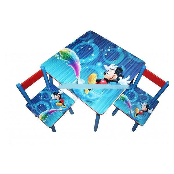 """Дитячий столик зі стільчиками DisneyToys """"Міккі Маус"""" (60*60 см), Україна"""