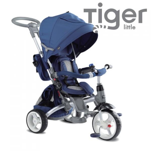 Дитячий трьохколісний велосипед-коляска Sun Baby Little Tiger (T500)