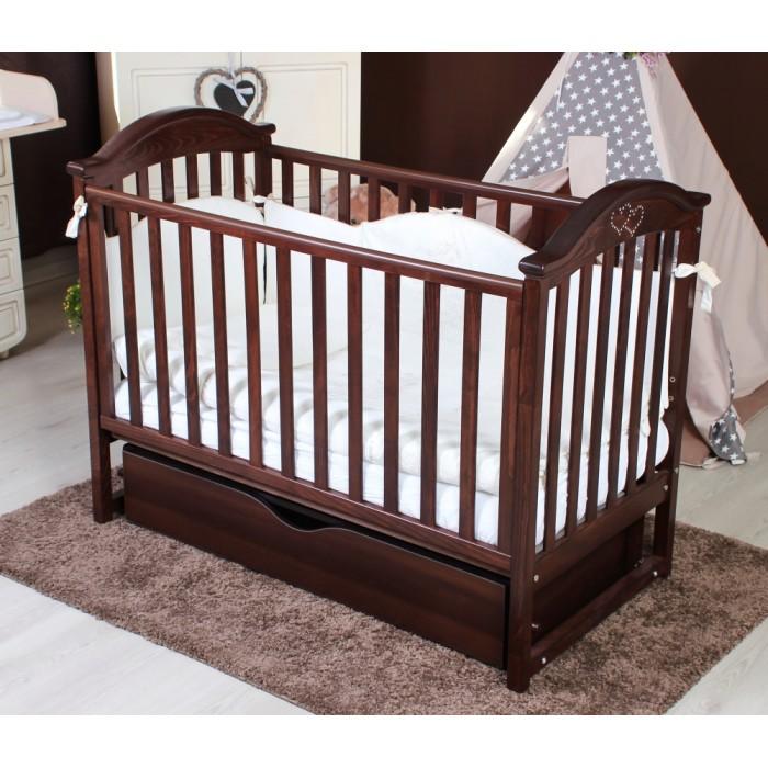 Дитяче ліжечко TWINS ILove (горіх)