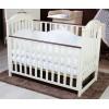 Дитяче ліжечко TWINS ILove (слонова кість/горіх)