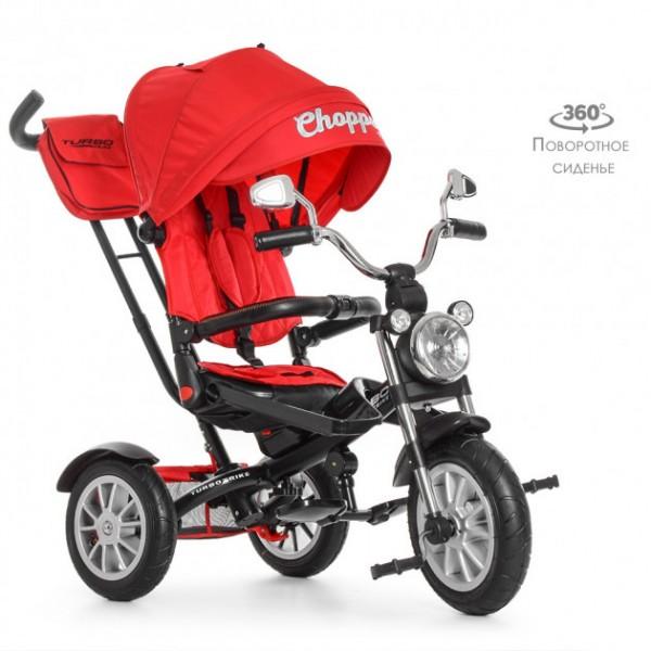Дитячий триколісний велосипед TurboTrike Chopper (M 4056)