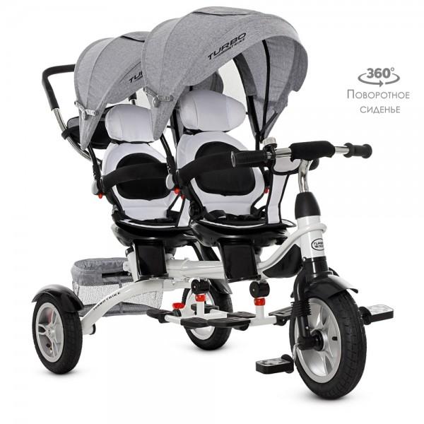 Дитячий велосипед для двійнят TURBOTRIKE M3116TWA-19 (DUOS)